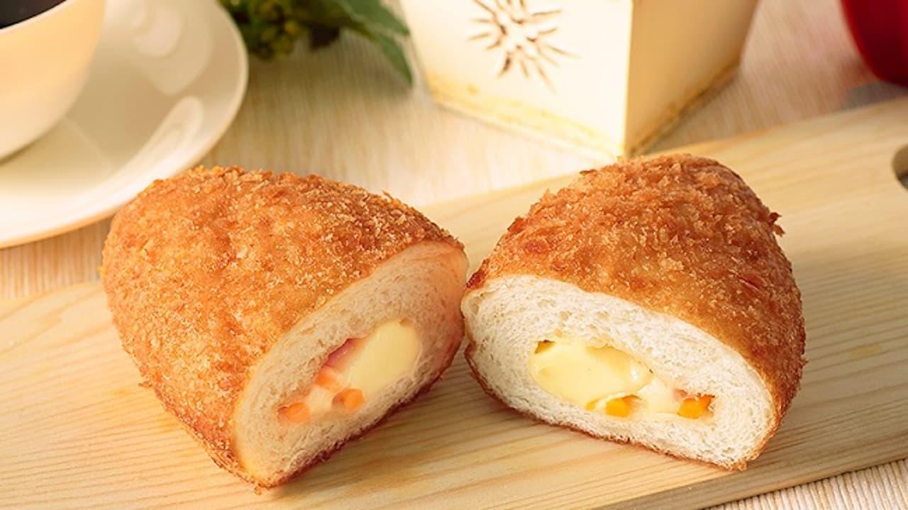 ローソンストア100「VLとろーりチーズパン」