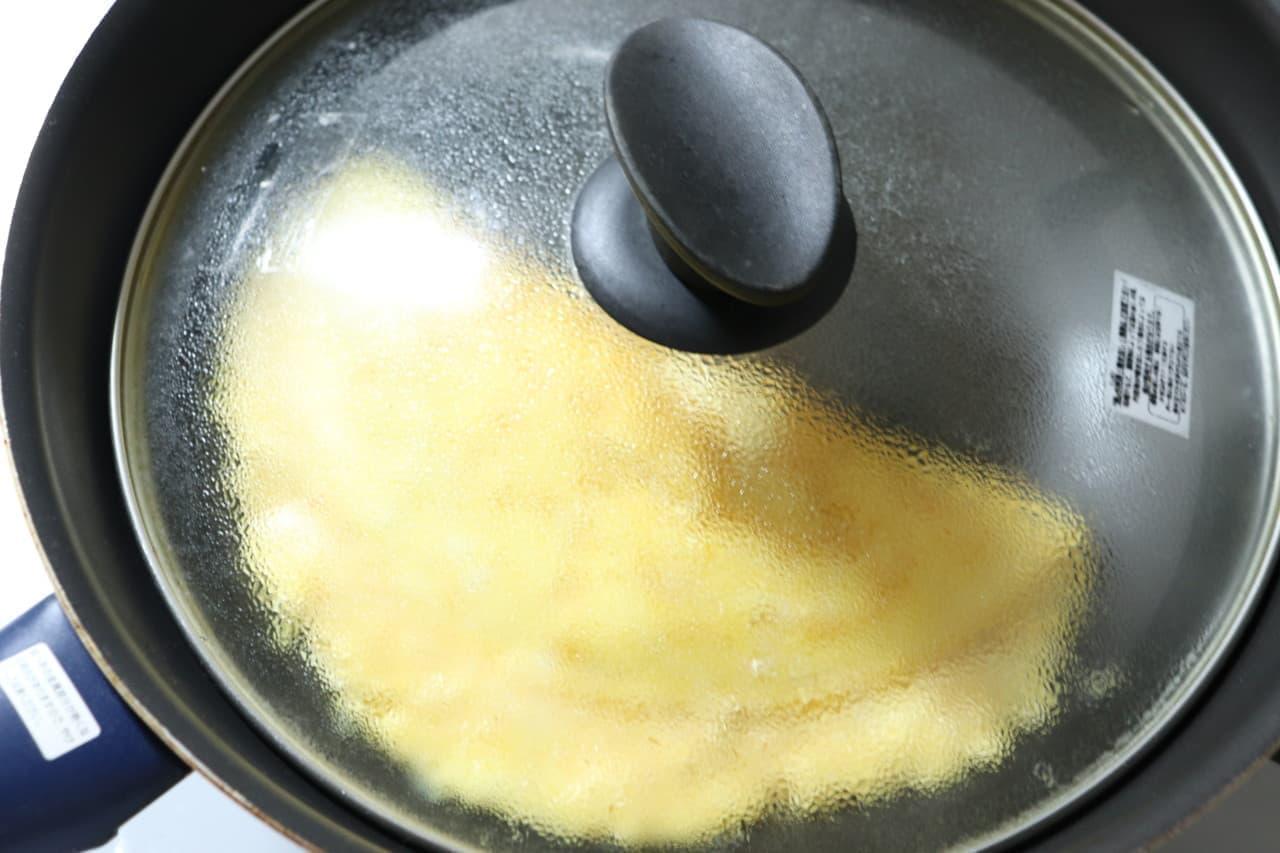 豆腐チーズオムレツ