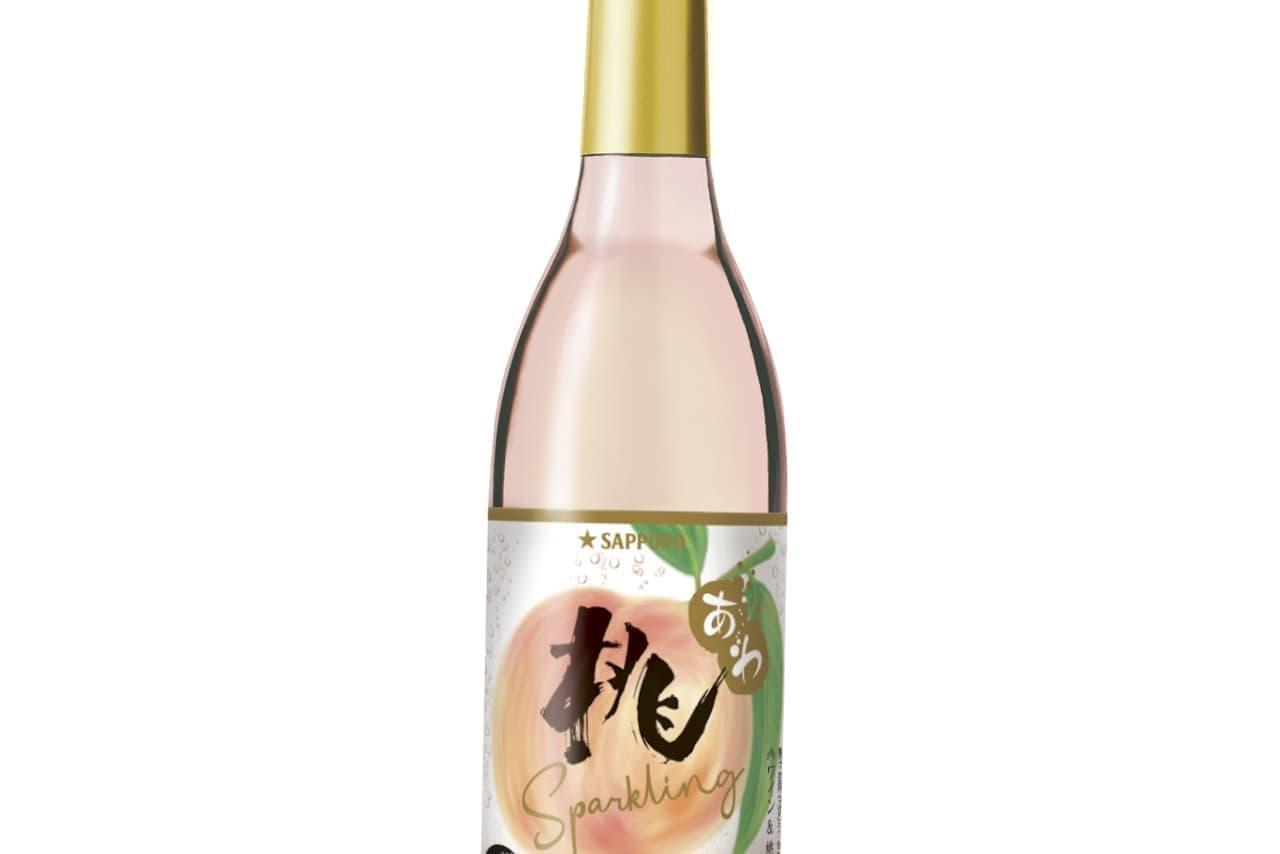 夏が旬!しゅわっと桃のお酒「桃のワインスパークリング」