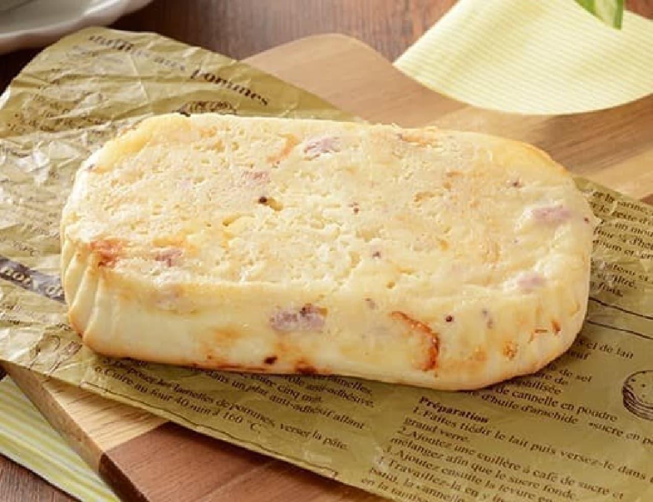 ローソン「ポテトとチーズハムパン」