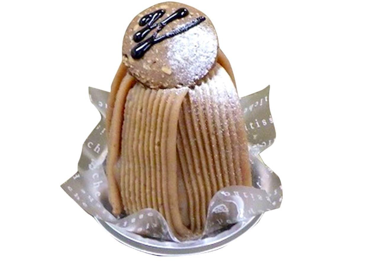 シャトレーゼ「イタリア栗のモンブラン」