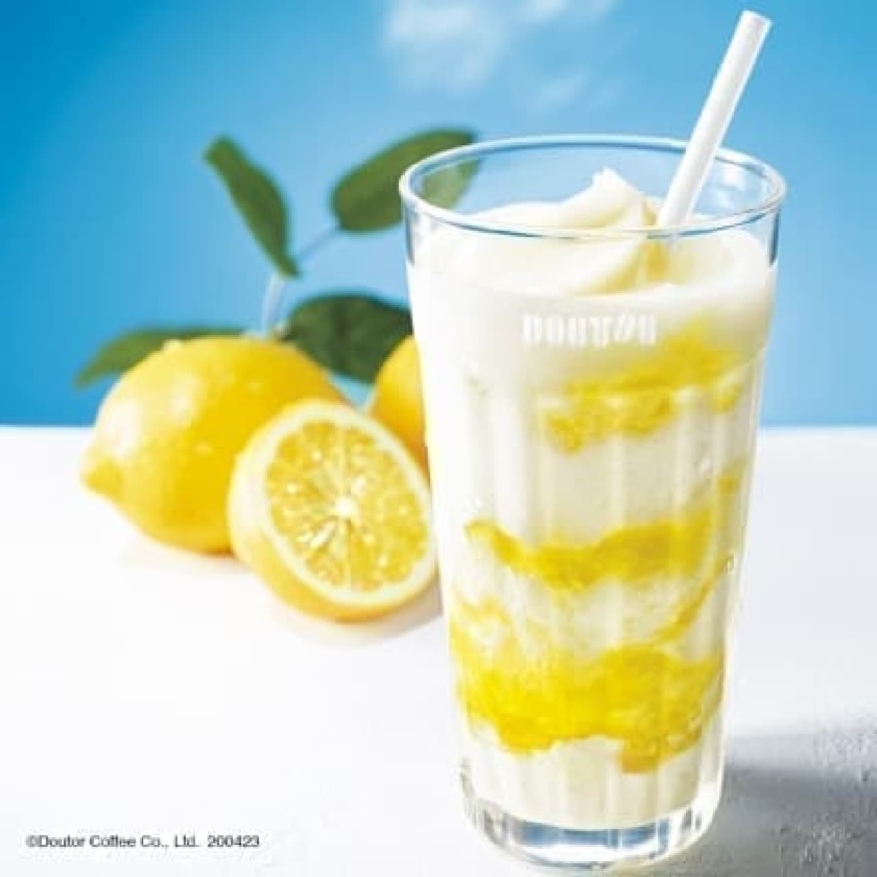 ドトールコーヒーショップ「はちみつレモンヨーグルン」