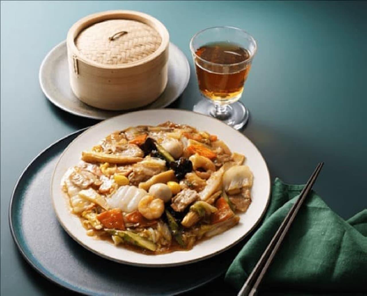 成城石井初のミールキットシリーズ「海老と国産豚肉の海鮮だし八宝菜」