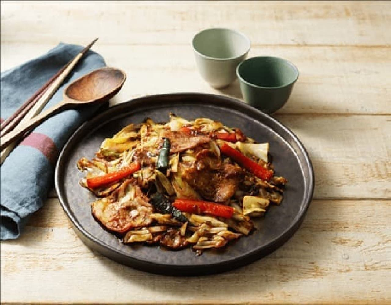成城石井初のミールキットシリーズ「国産豚肉の特製たれ回鍋肉」