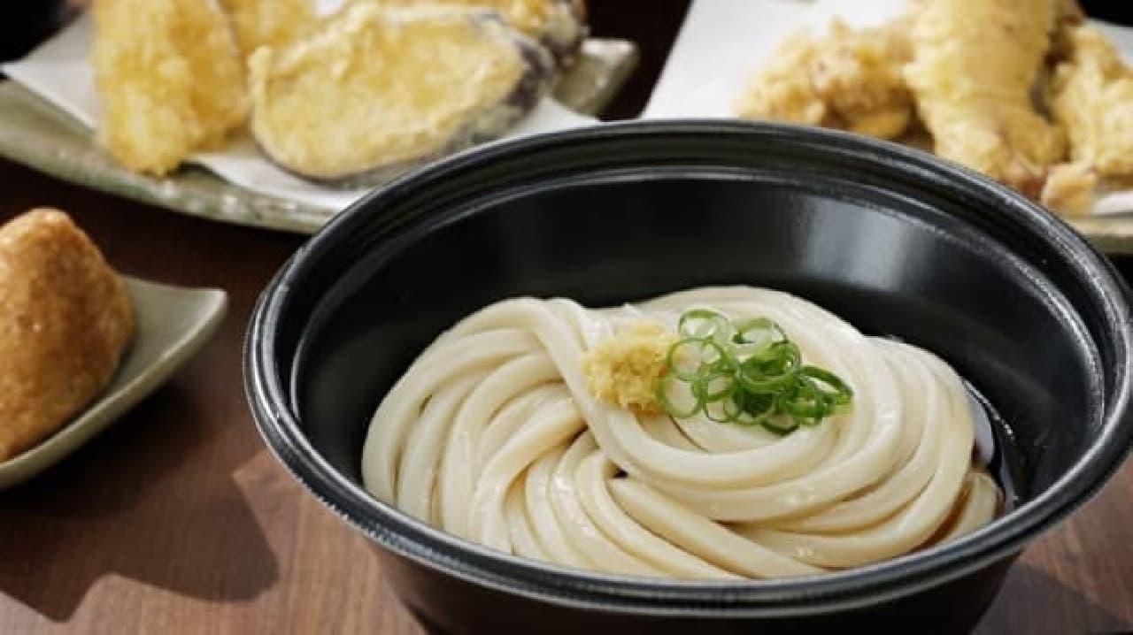 丸亀製麺のうどんテイクアウト