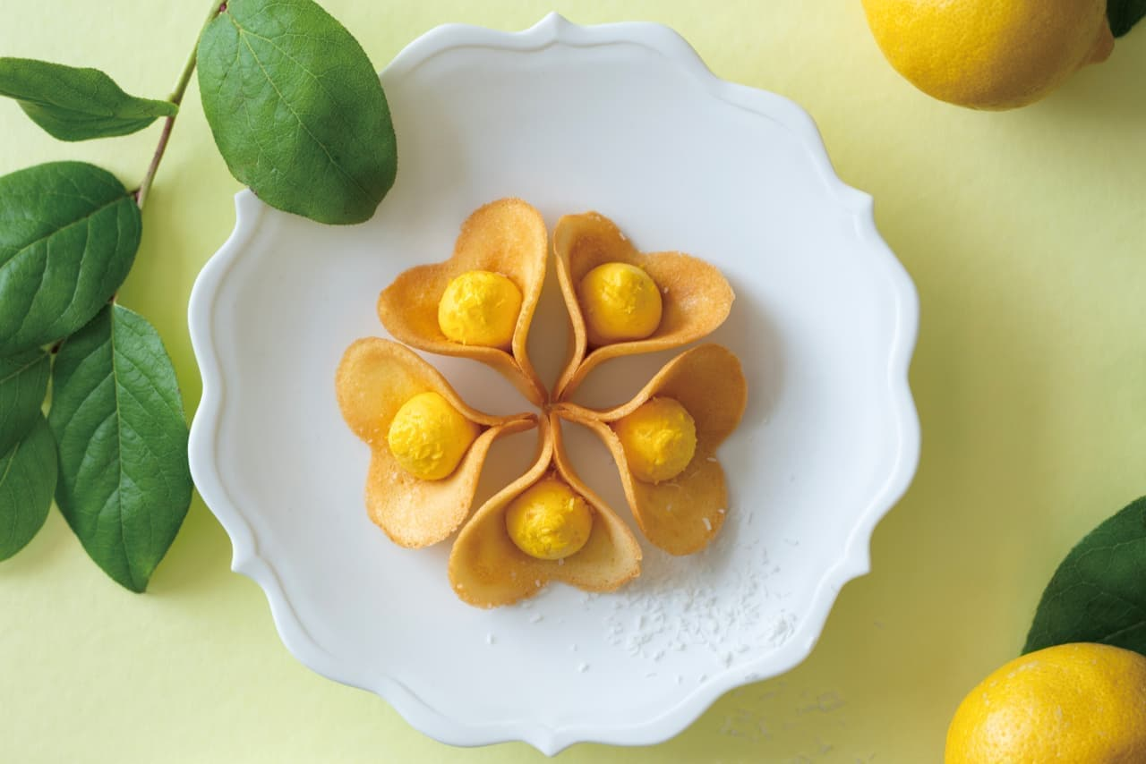 ほろ苦クリーム入り「ルフル レモンココナッツ」
