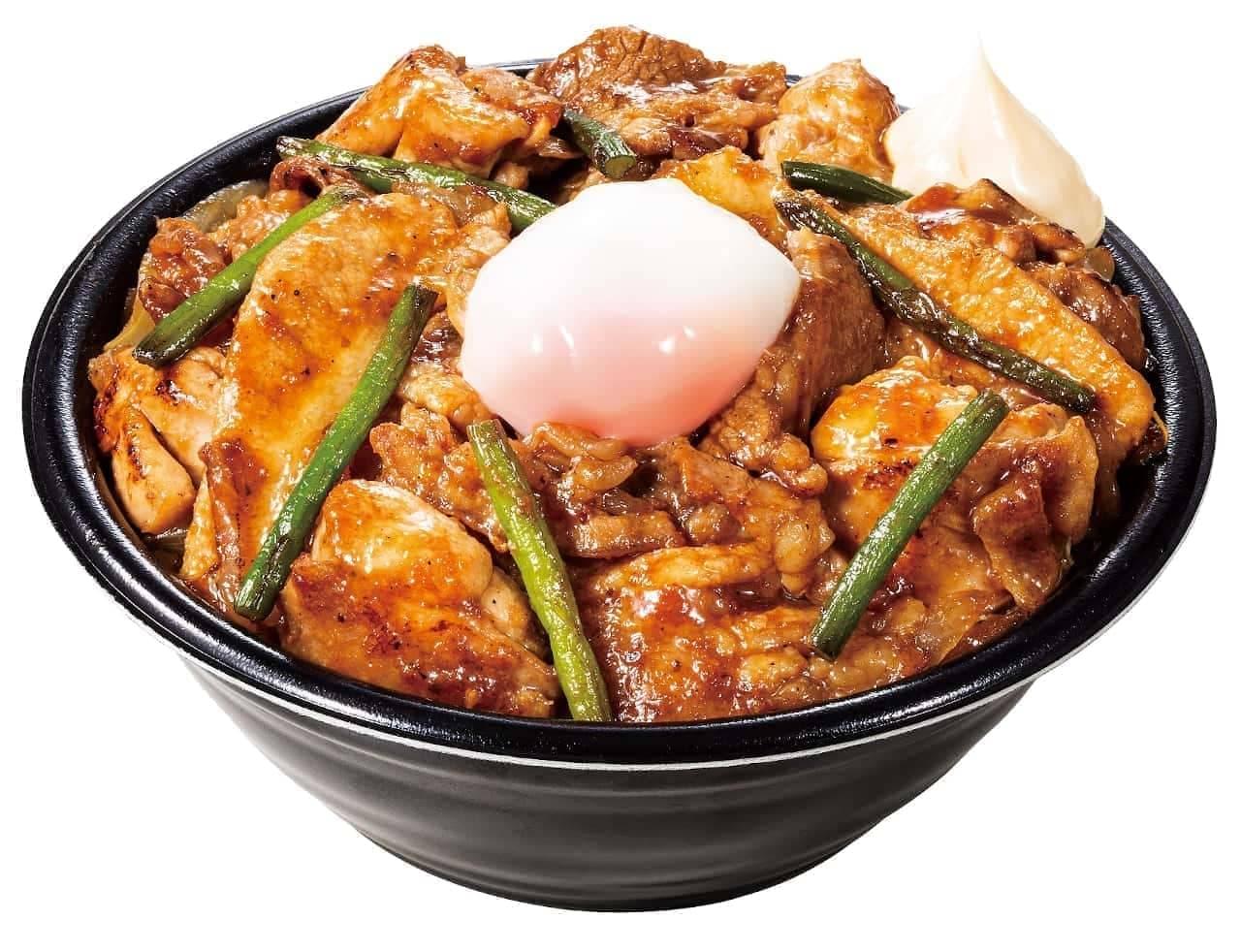 伝説のすた丼屋「オールスター焼肉丼」