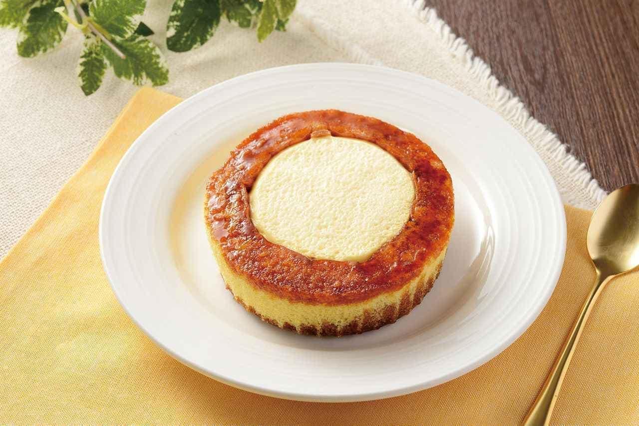 ローソン「シャリトロール -ブリュレロールケーキ-」
