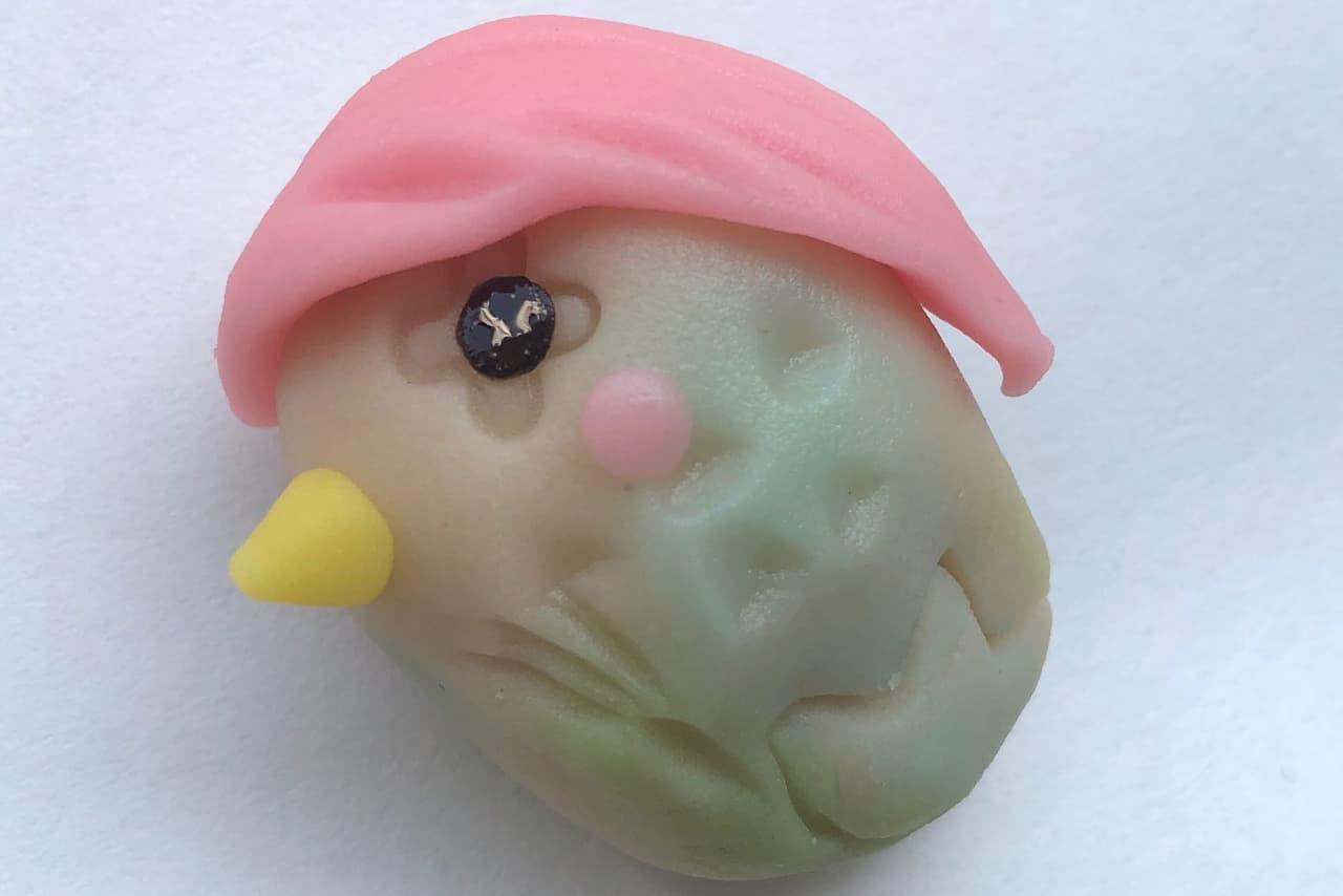 アマビエ上生菓子と小豆で「コロナ退散!厄払い和菓子セット」