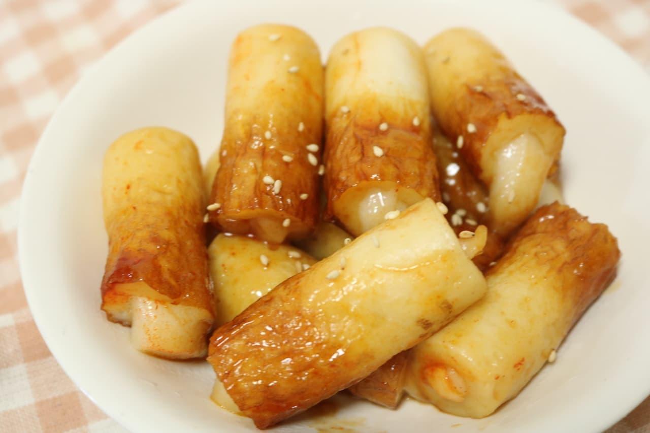 「ちくわトッポギ」のレシピ