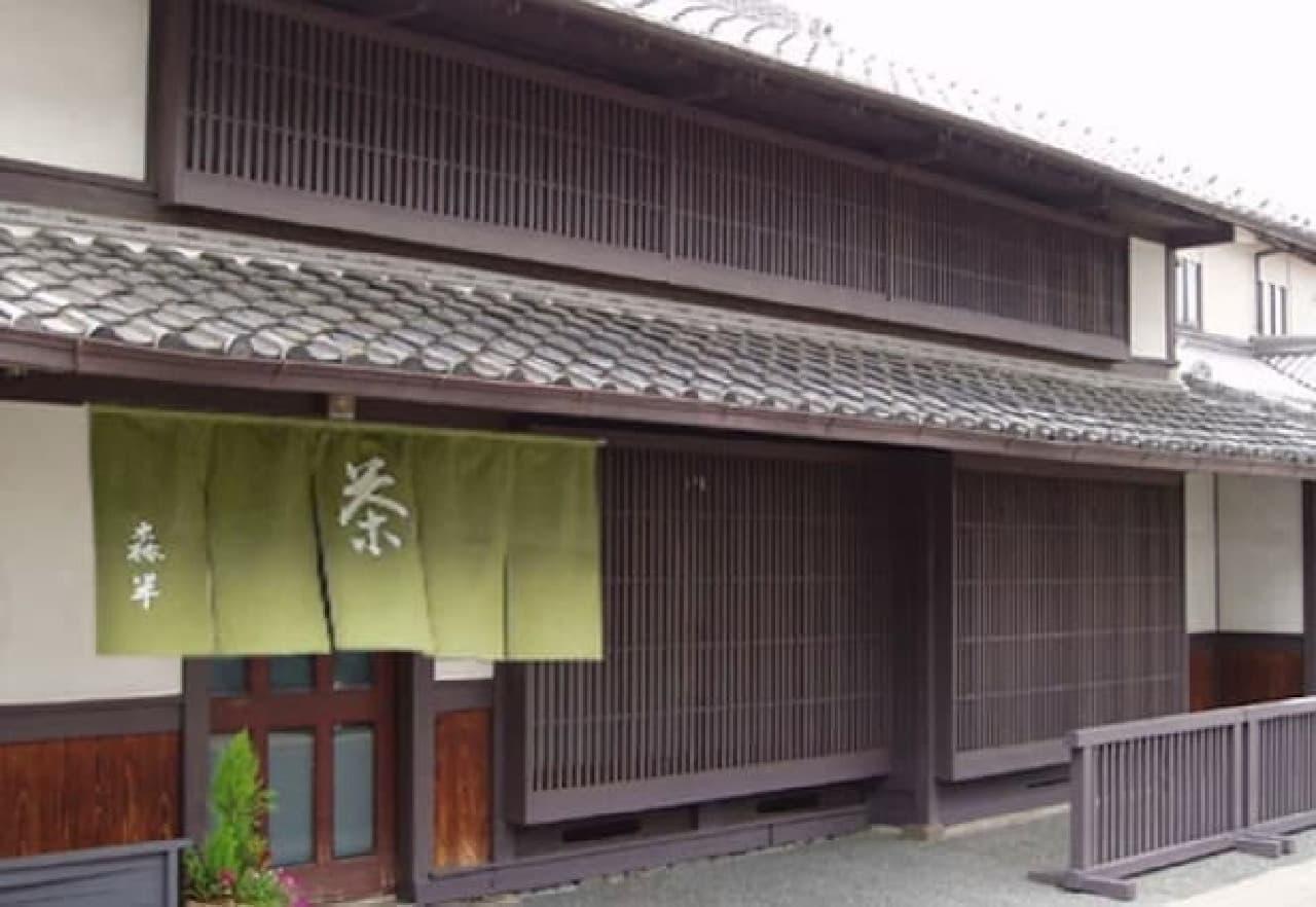 京都宇治の老舗製茶ブランド「森半」