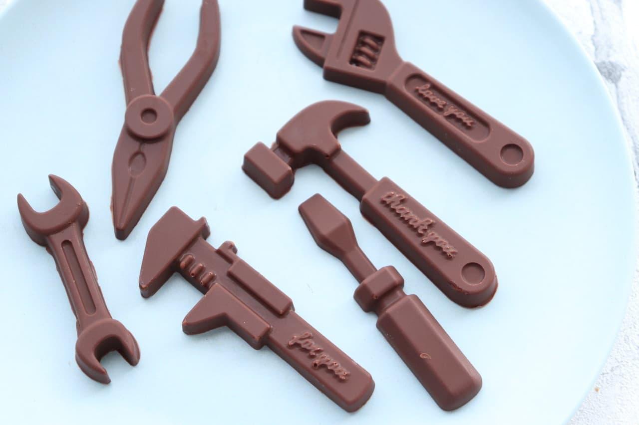 キャンドゥチョコモールド工具型