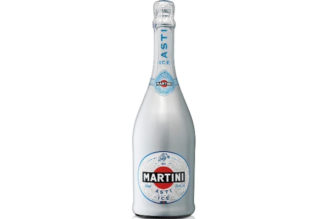 氷を入れて飲むスパークリングワイン「マルティーニ アスティ・アイス」