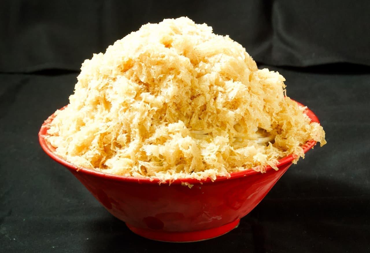 東京豚骨拉麺ばんから「かき氷冷やし味噌ラーメン」