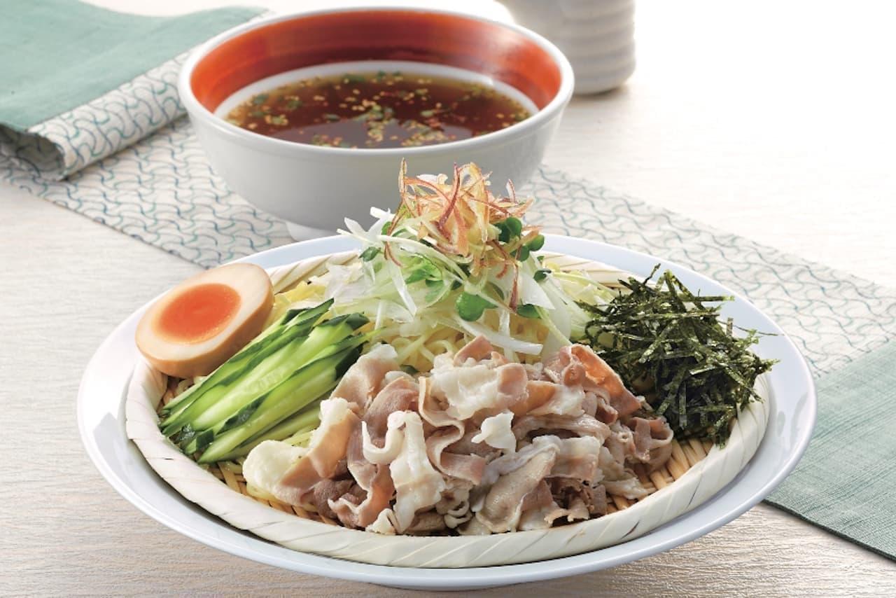 丸源ラーメンに「たっぷり薬味の和風ざる冷麺」「盛岡冷麺」
