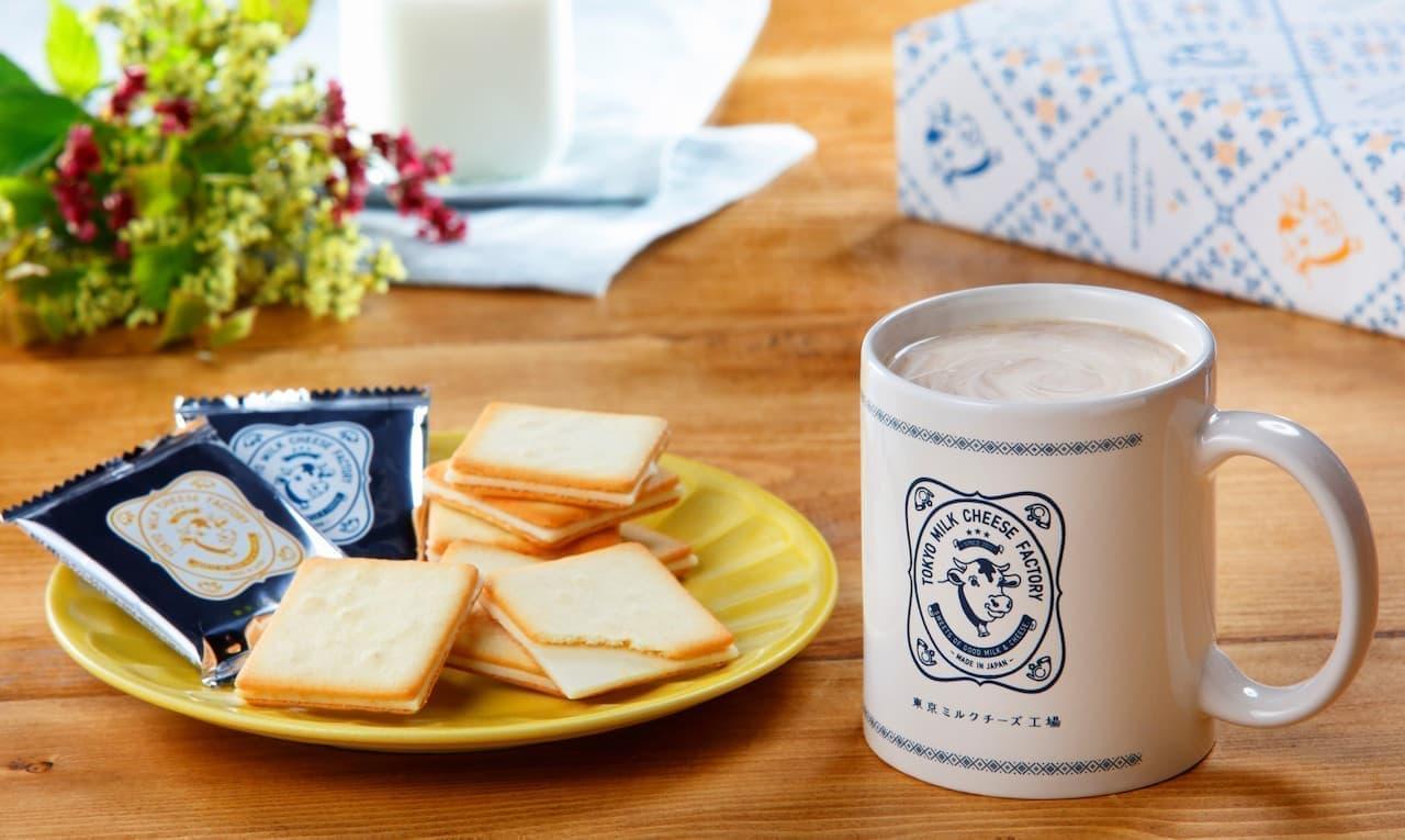 東京ミルクチーズ工場から、新商品「ティータイムギフトセット」