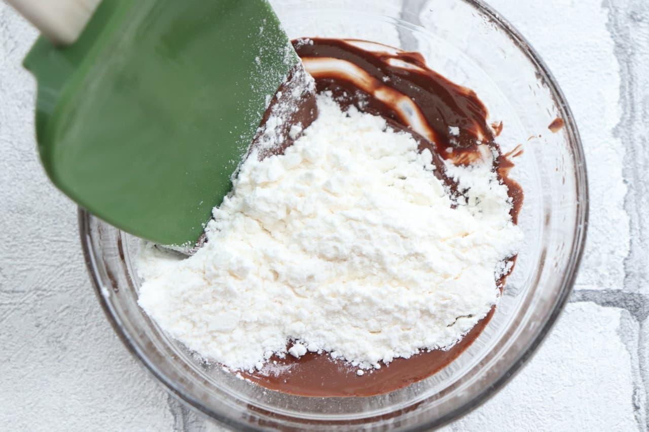 焼きチョコのレシピ