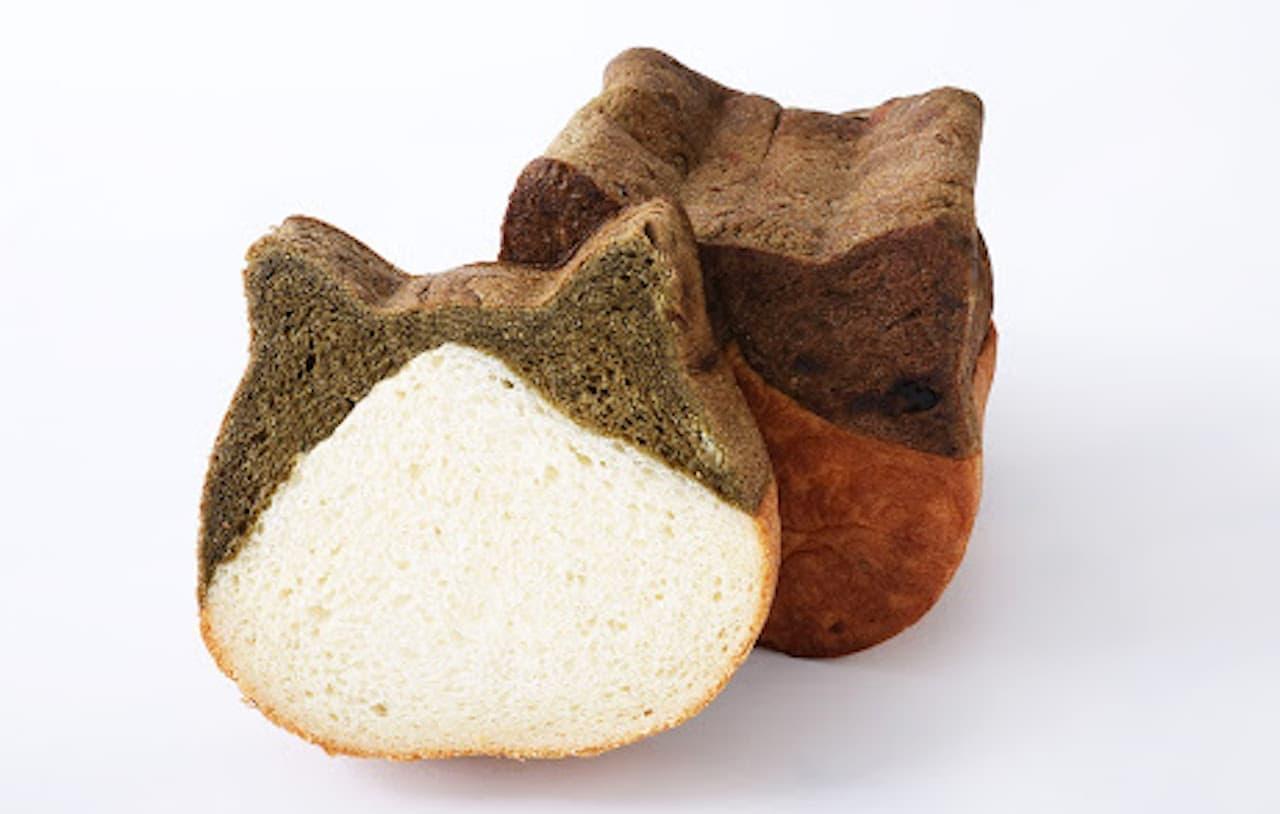 ねこねこ食パン期間限定フレーバー「ねこねこ食パン ほうじ茶」
