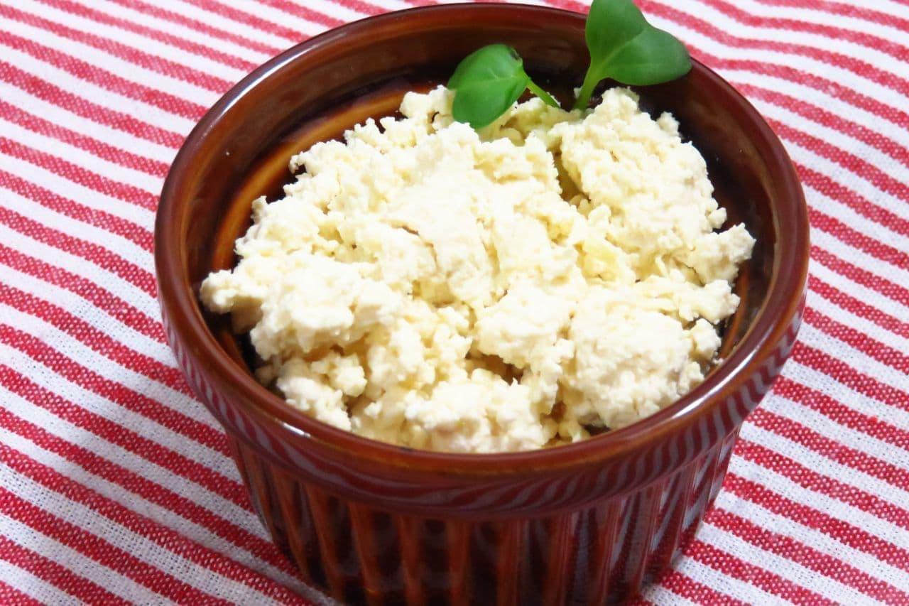 「豆乳カッテージチーズ」のレシピ