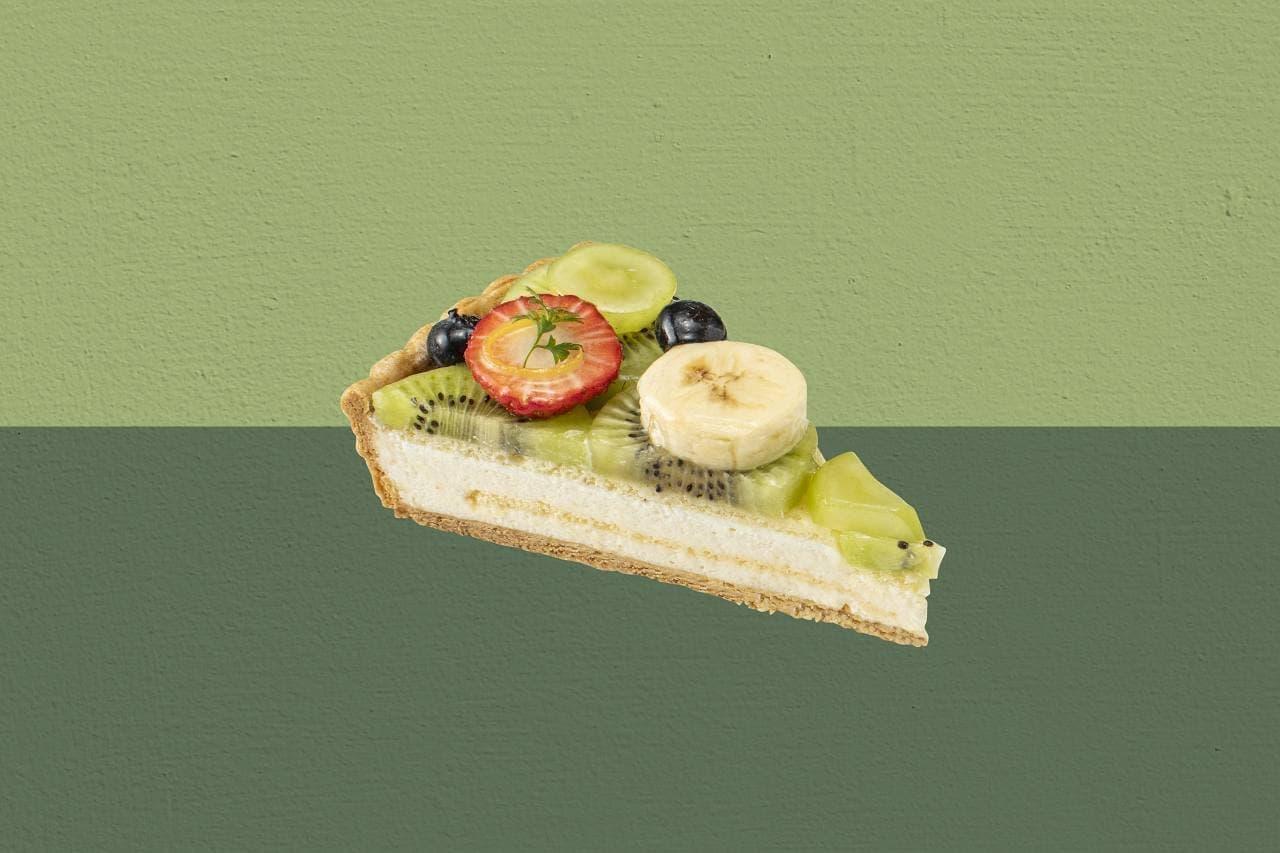 キル フェ ボン グランメゾン銀座「緑のフルーツと桃のムースタルト~睡蓮の池~」