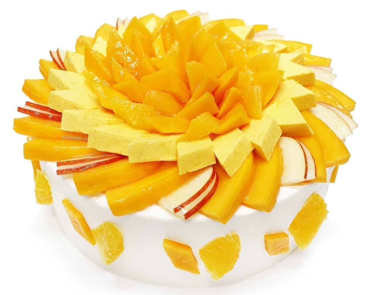 カフェコムサのマンゴーフェア「世界のマンゴーを訪ねて」
