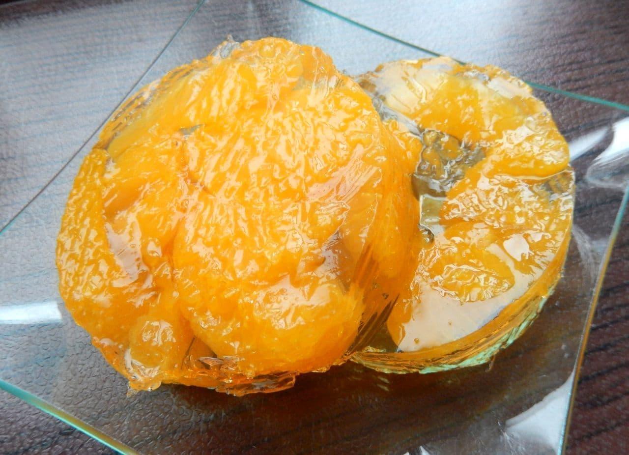 「フルーツ缶まるごとゼリー」簡単レシピ