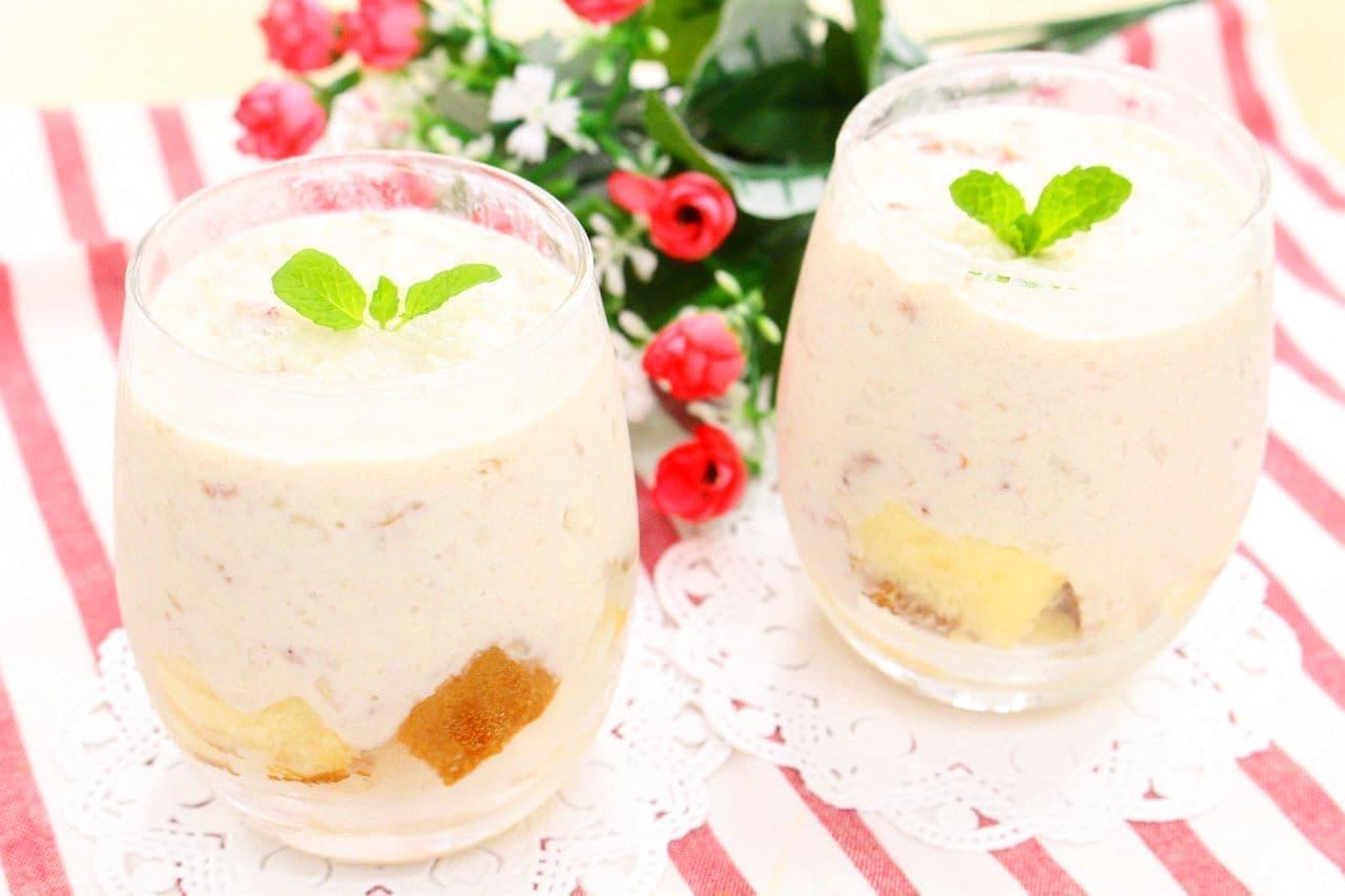 簡単スイーツレシピ「豆腐ヨーグルトムース」