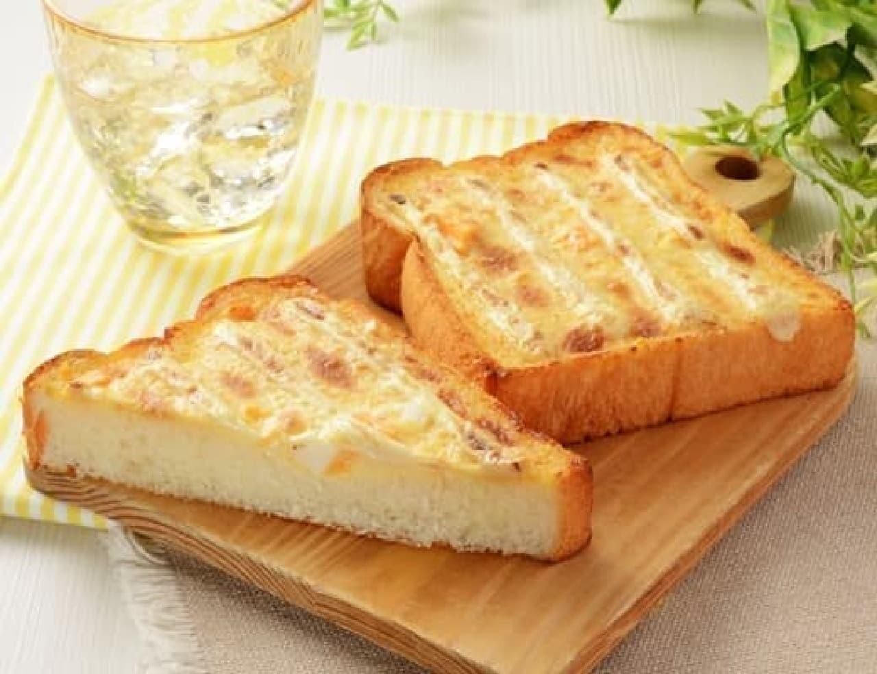 ローソンの「たまごトースト(マヨネーズ風味)」