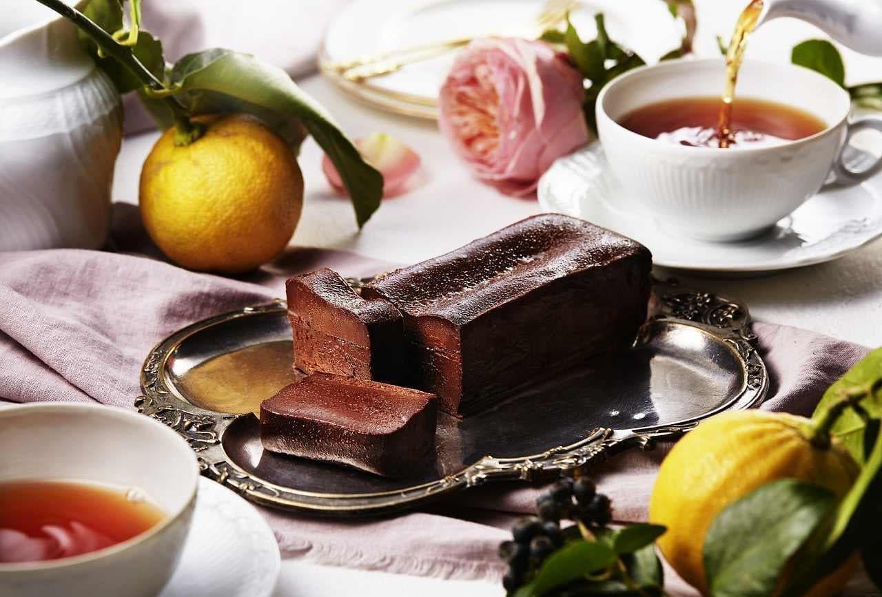 大人のガトーショコラ専門店 マジョリ「とろけるガトーショコラ‐ベルガモットティータイム」