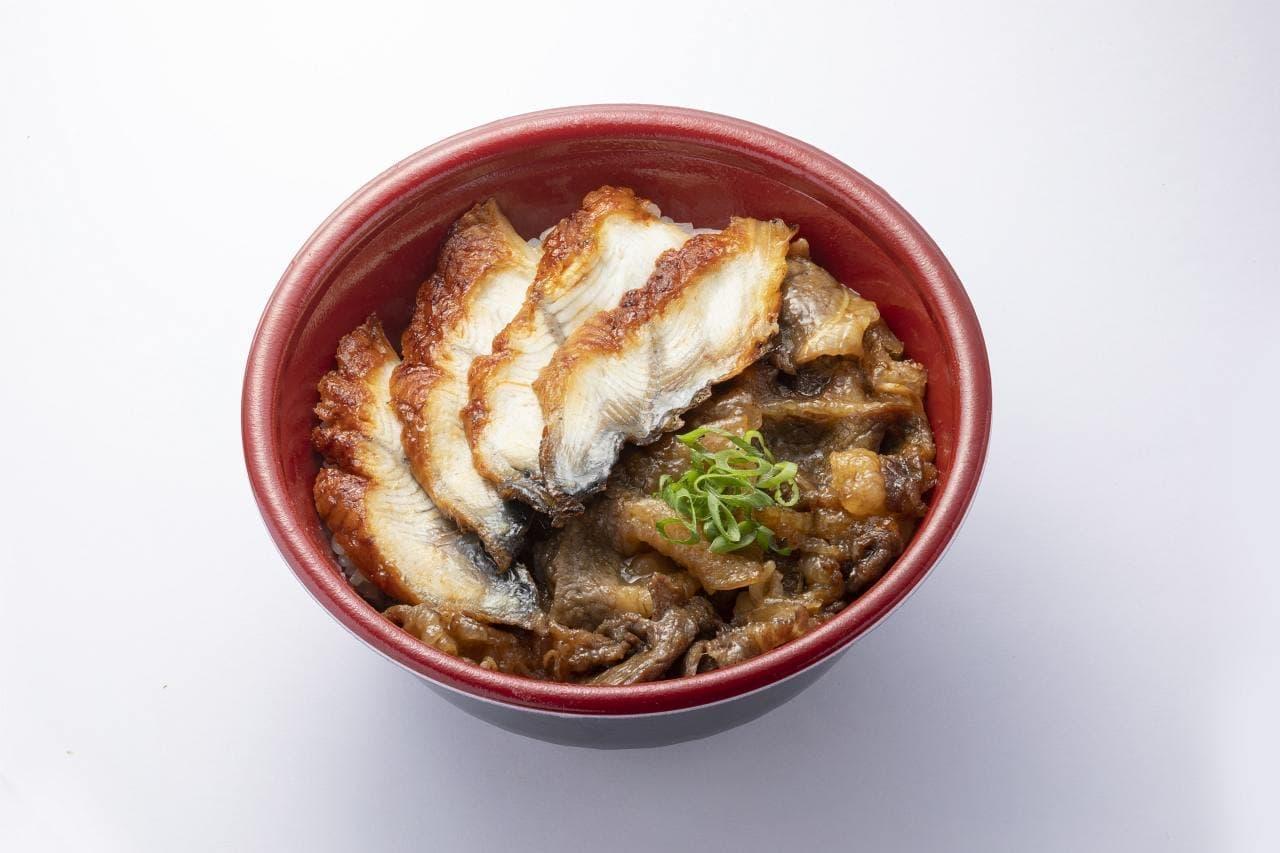 はま寿司の「うなカルビ丼」