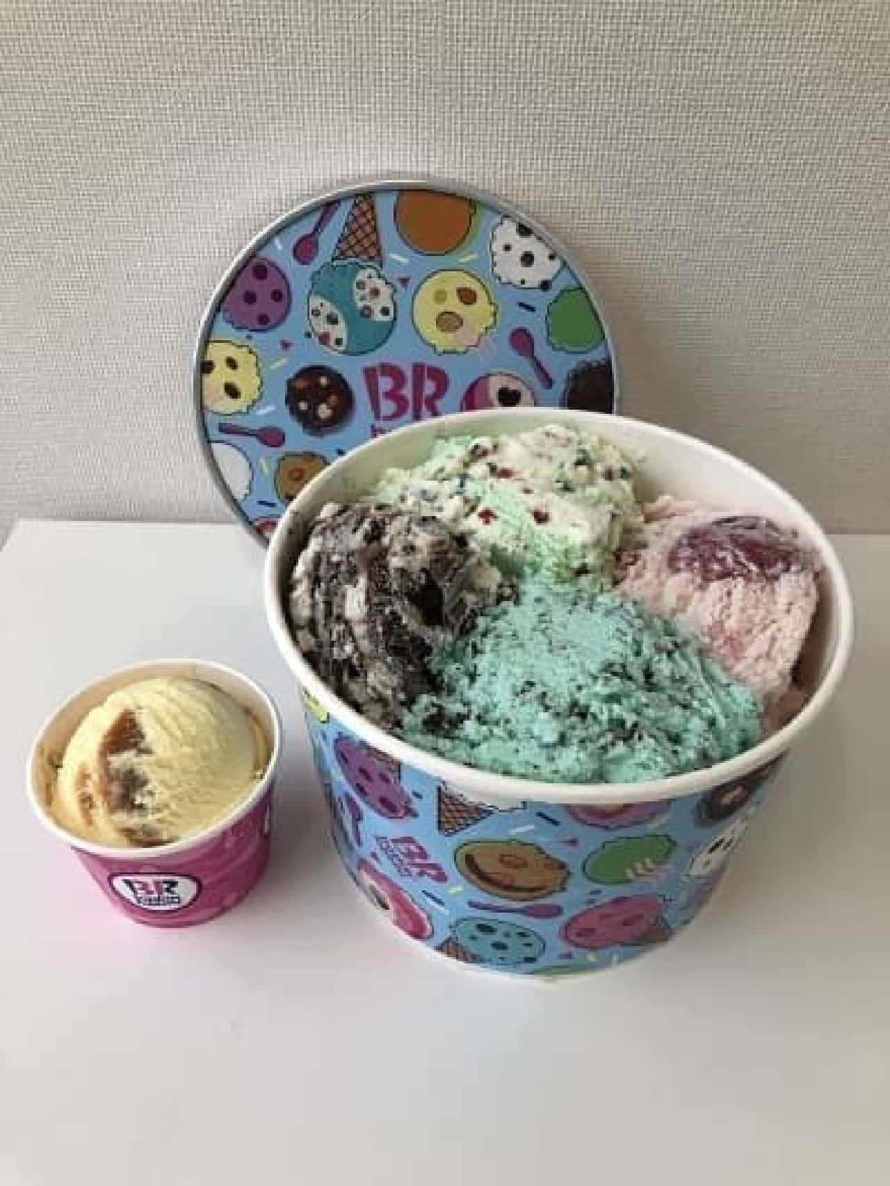 サーティワン アイスクリームの「スーパービッグカップ」