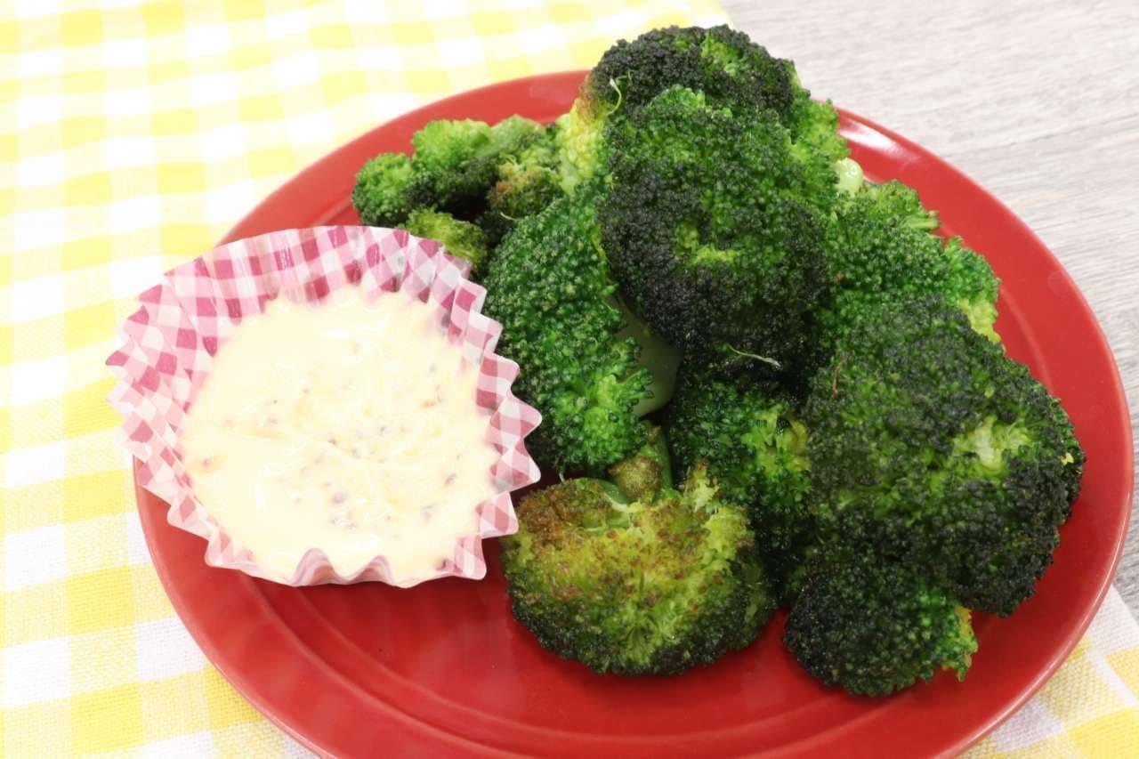 ハマるレシピ「ブロッコリーの素揚げ」