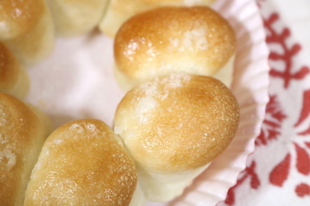 ミスド「ポン・デ・ちぎりパン シュガー」