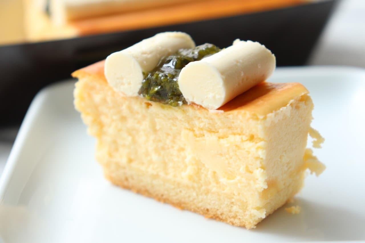 成城石井に夏限定「レモンチーズケーキ」