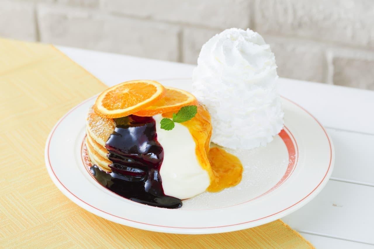 エッグスンシングスパンケーキ