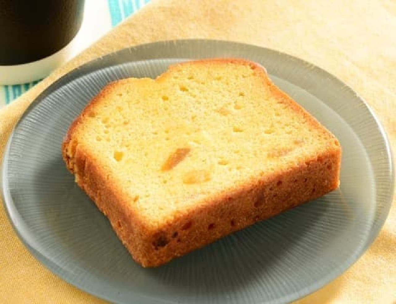 ローソン「爽やかレモンのパウンドケーキ 1個」