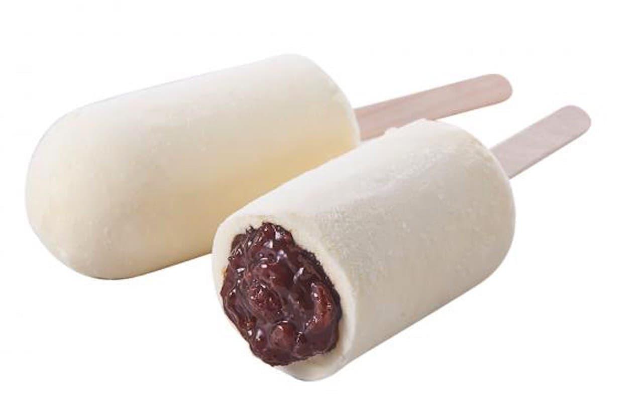 シャトレーゼ「和菓子アイス 十勝あずきのミルク饅頭」