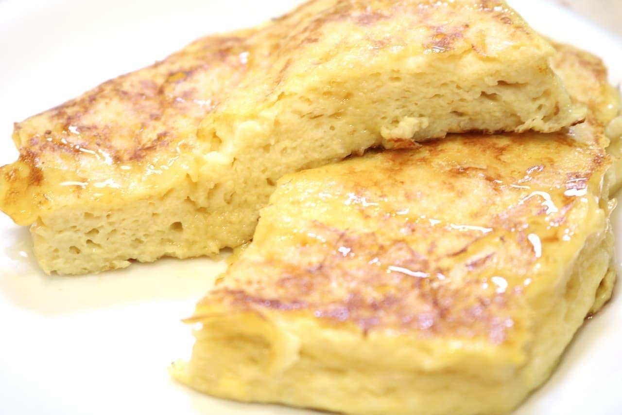 ホテルオークラ「オークラ特製フレンチトースト」のレシピ