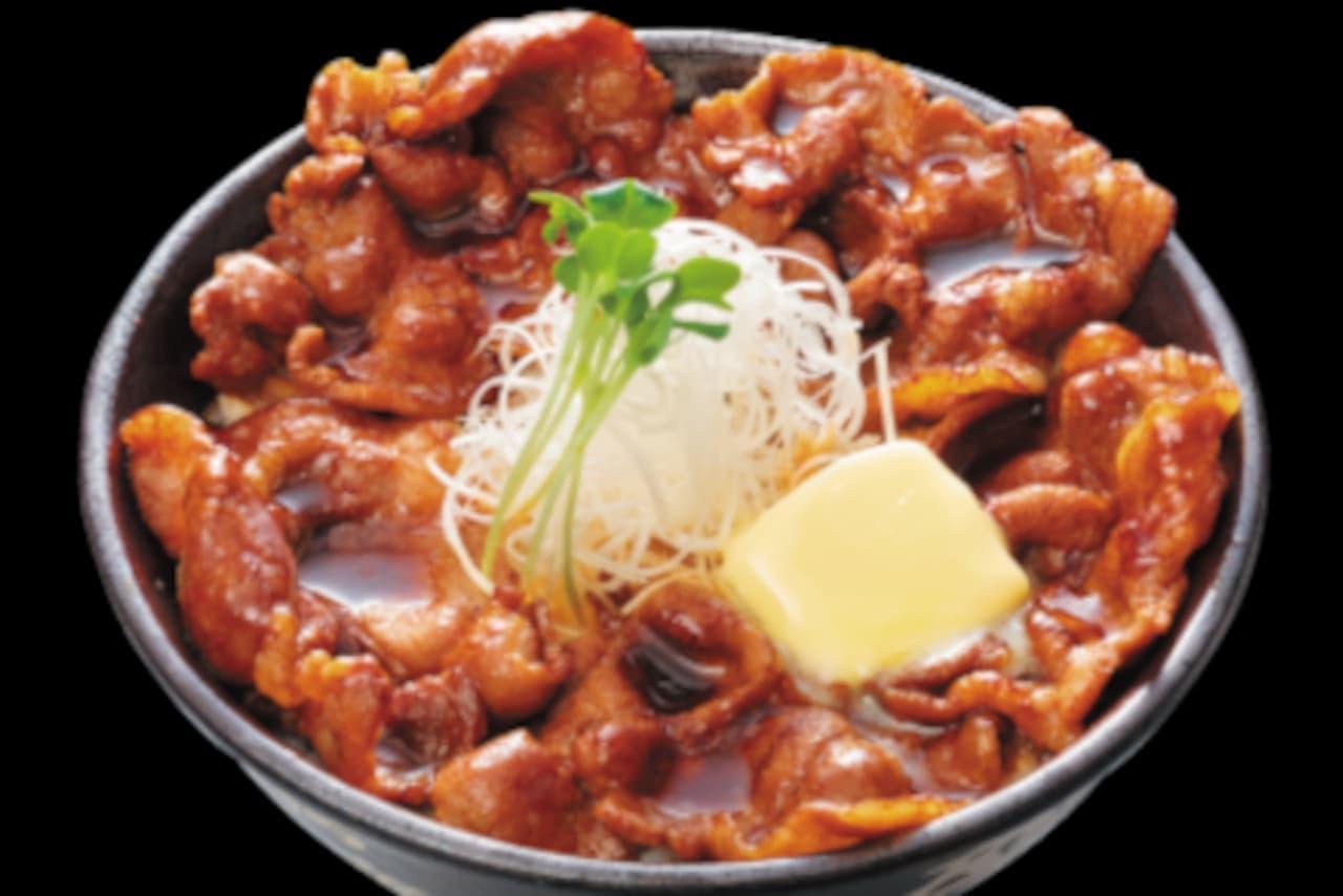 伝説のすた丼屋に「北海道すた丼」