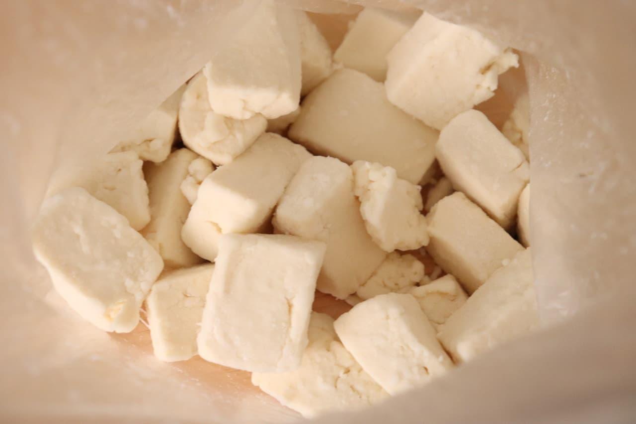 豆腐のエビマヨ風