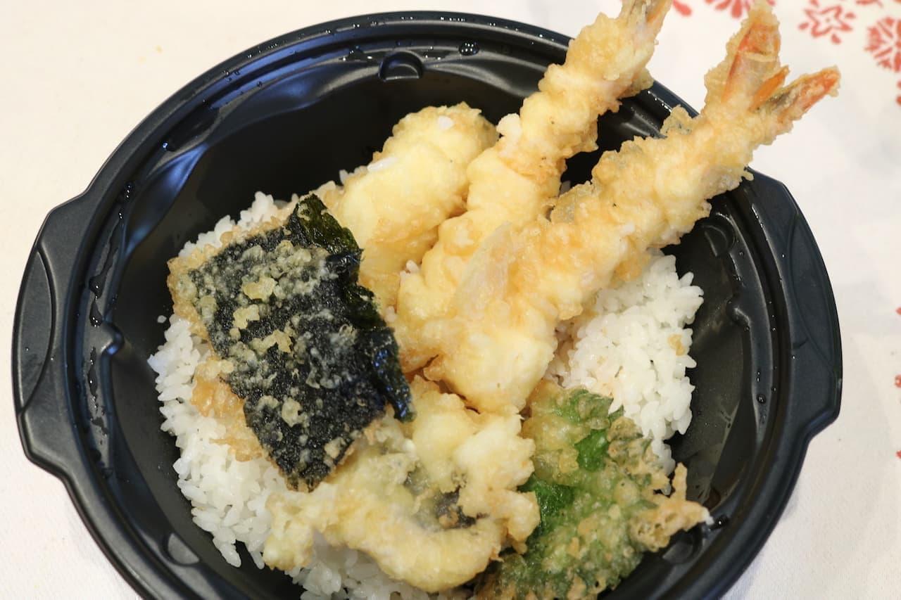 くら寿司「えび天と季節の天丼」