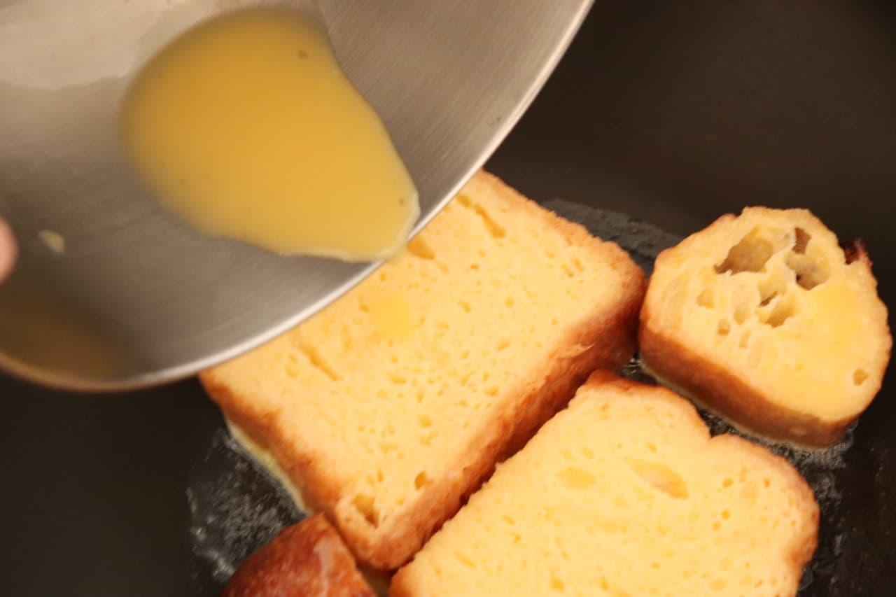 カルピスフレンチトースト