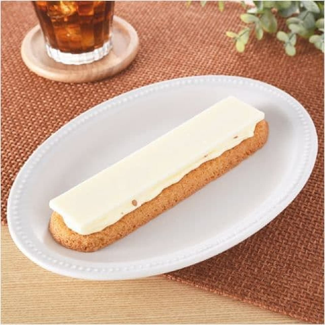 ファミリーマート「パキチョコ&ラングドシャサンド(チーズ)」
