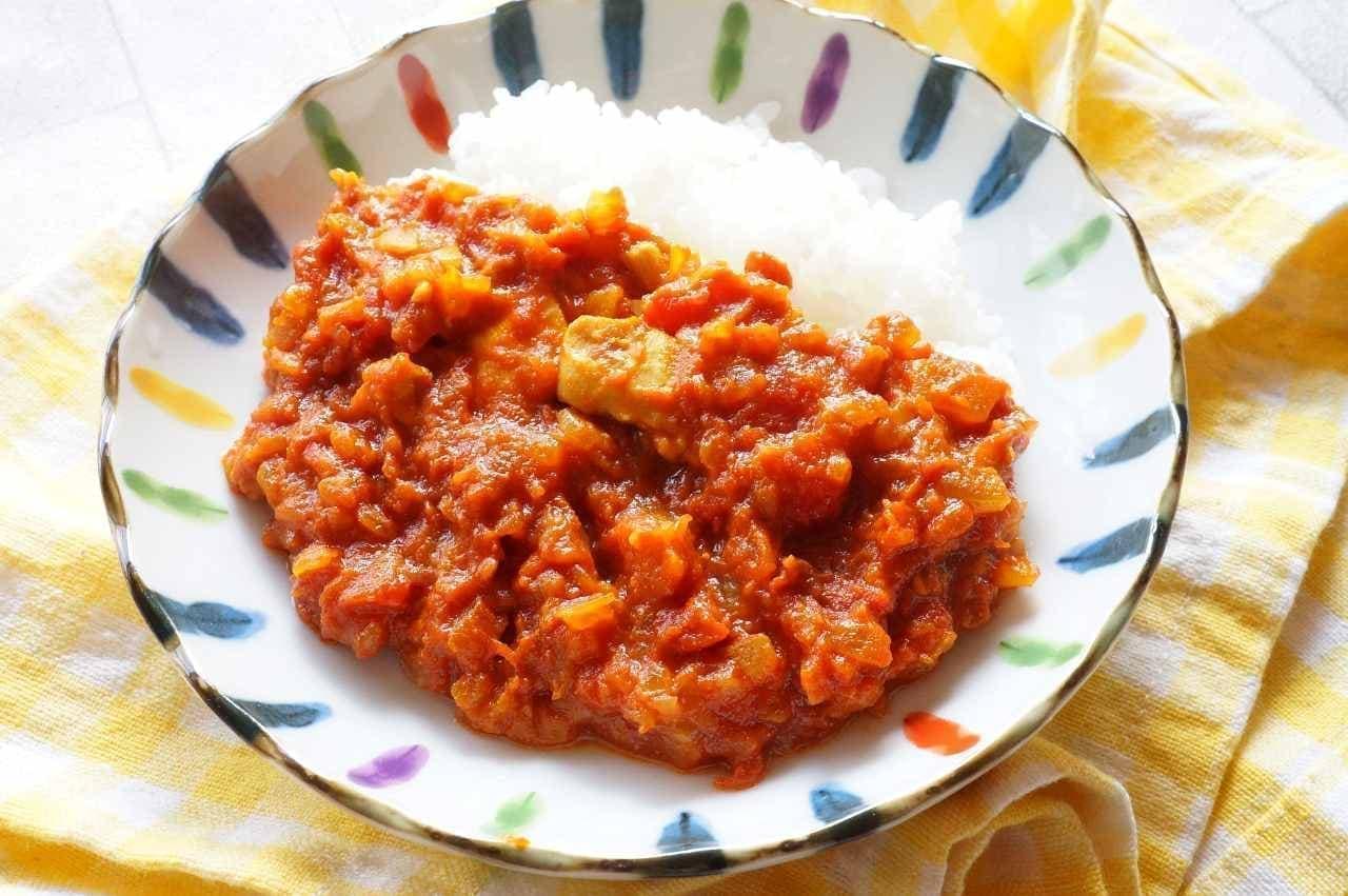 トマト缶を使った「スパイスカレー」が家で簡単に作れるレシピ