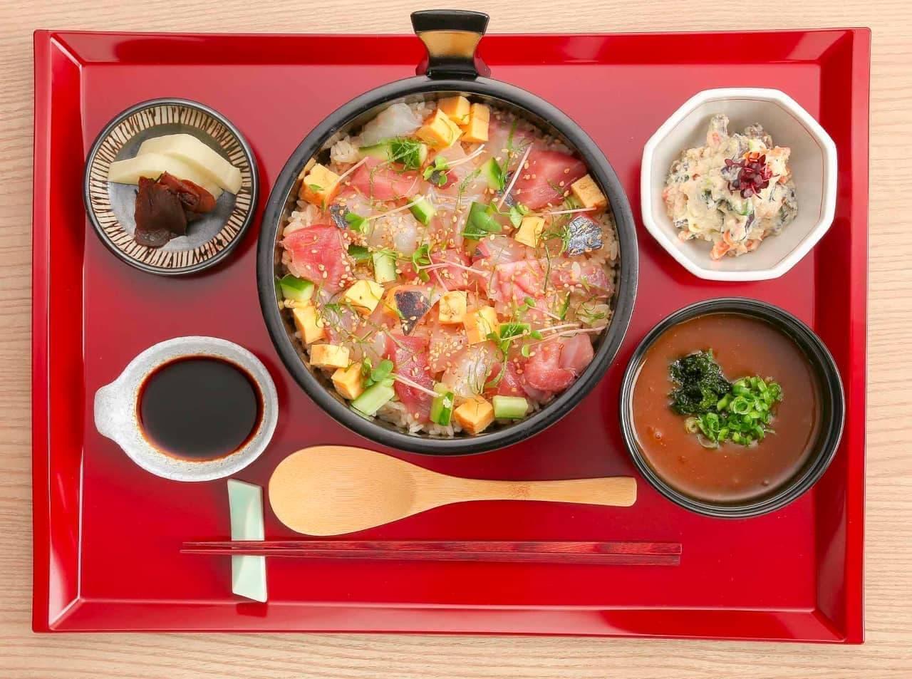 近大 養殖魚専門料理店「近畿大学水産研究所 はなれ」