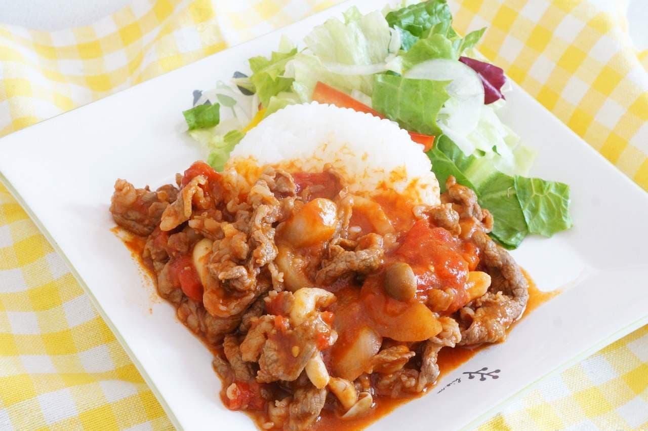 ルー不要の「ハヤシライス」のレシピ