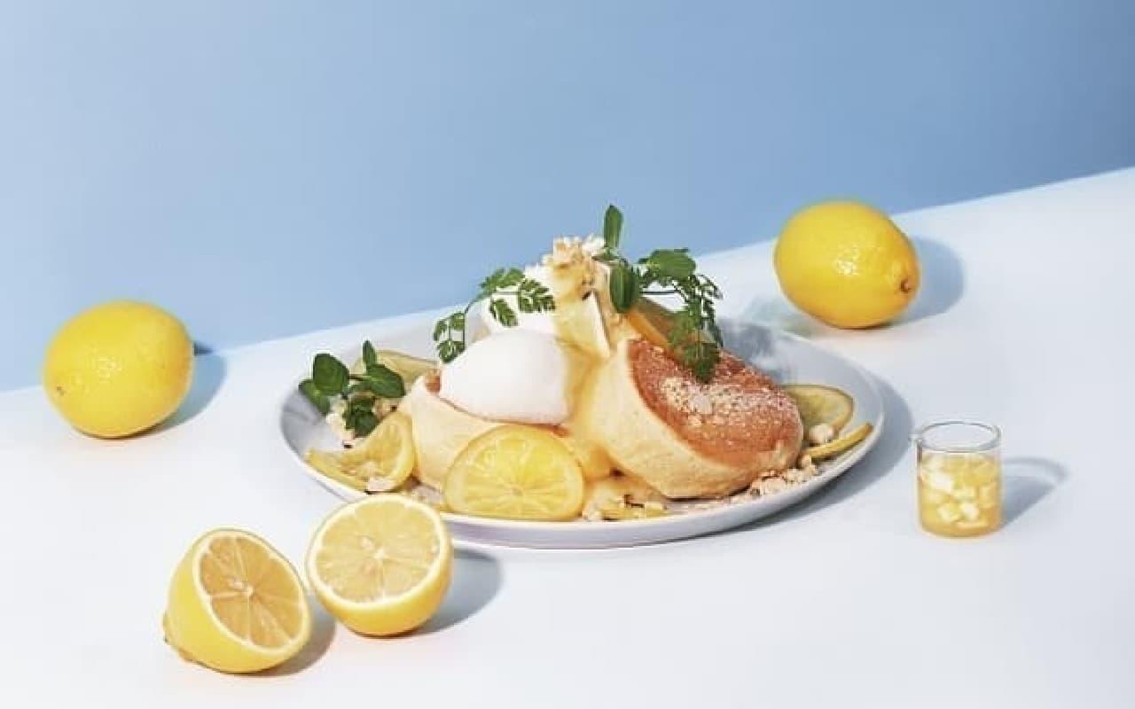 フリッパーズの「奇跡のパンケーキ レモンとクリームチーズ」