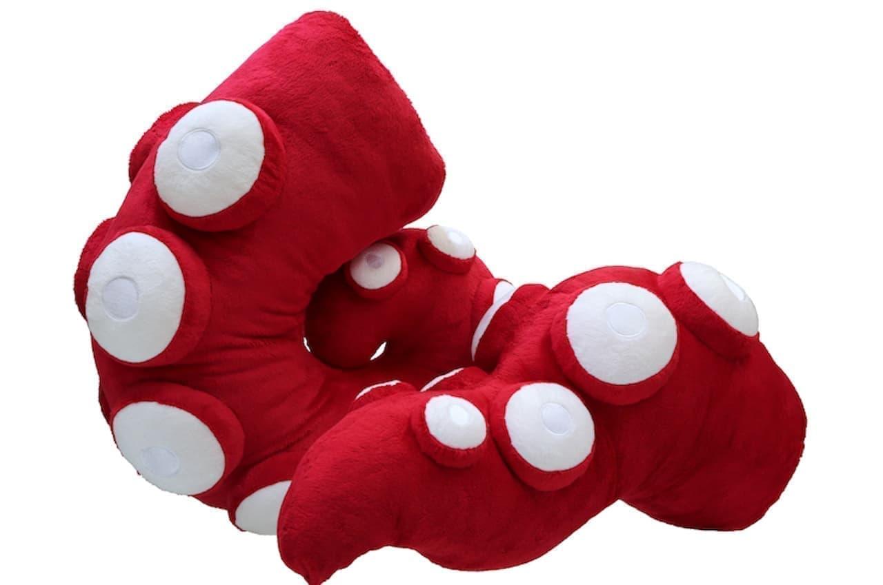 ヴィレヴァン「蛸の手」のクッション