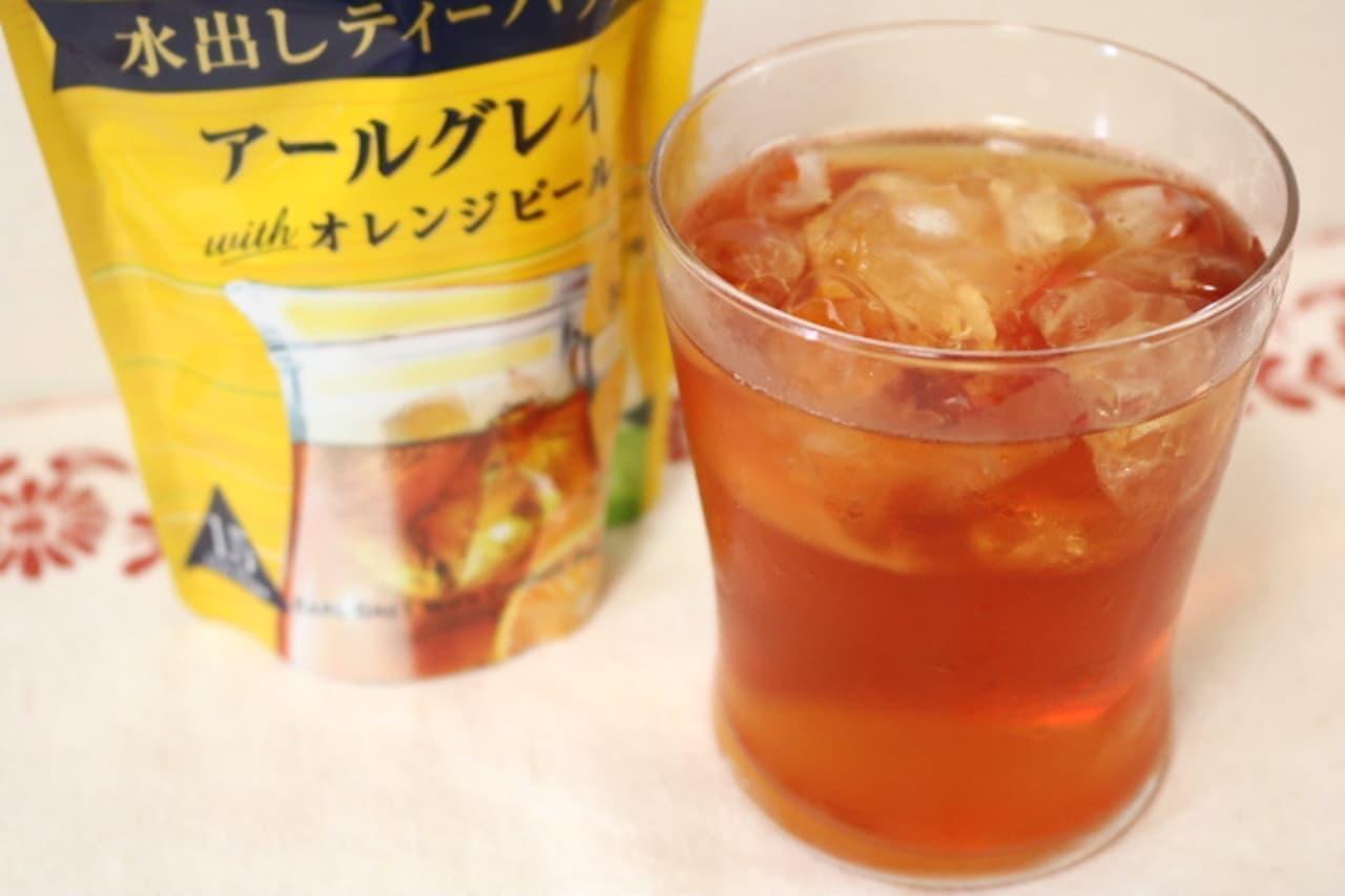 伊藤園「TEAs' TEA NEW AUTHENTIC アールグレイwithオレンジピール 水出しティーバッグ」