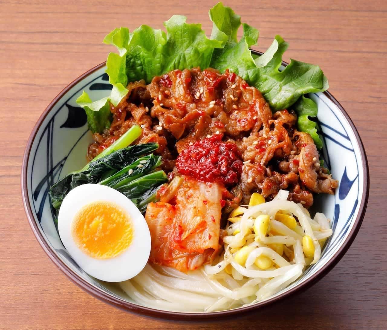 丸亀製麺「 辛辛(からから)牛焼肉冷麺」